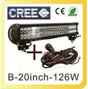 "NEW 20"" cree led light bar Prince George British Columbia image 1"