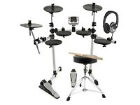 Gear4music digital drums 400 compact electronic drum kit