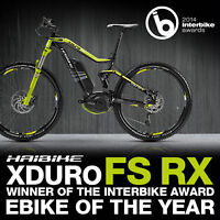 Haibike Xduro FS RX Electric Mountain Bike