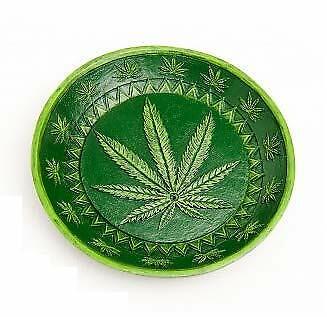 Gadgets Round Pot Leaf Incense Burner