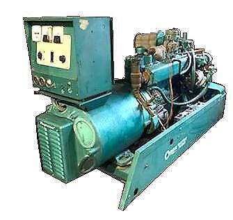 Onan 45em-4xr81643a Natural Gas Generator W Ford Motor 45 Kw 277480 V
