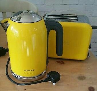 Bright Yellow Kenwood Kmix Kettle Amp Toaster In Exeter