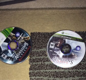 Selling 2 assassins creed for Xbox 360
