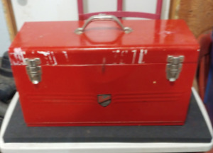3 Drawer Metal Tool Box