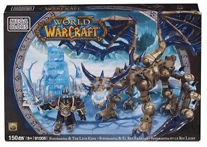 World of Warcraft WOW Mega Bloks Sindragosa Dragon Lich King Arthas Figure 91008