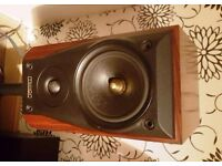 Mission 750 LE Limited Edition Stereo Speakers Rosewood Cabinets Bi-Wired One of only 7,000 Sets