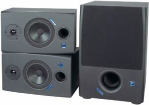 Yorkville YSM1P Powered Studio Monitors & YSS1 Powered Subwoofer