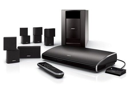 Bose Lifestyle V25 5.1 home cinema system mini cube speakers sub ...