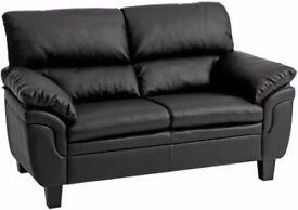 Black sofa