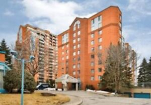 Furnished condo, 2 Bedroom in Saint-Laurent - excellent location
