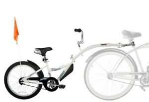 Copilot tandem bike attachment