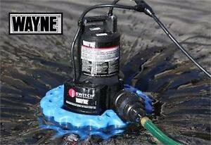 NEW WAYNE POOL COVER PUMP Wayne WAPC250 1/4 HP Automatic On/Off Water Removal Pool Cover Pump  83424101