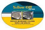 Yellow Off Headlight Cleaner