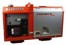 Diesel Generator Kubota Lowboy 6kva Thornlands Redland Area Preview