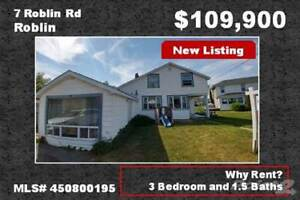 Homes for Sale in Roblin, Ontario $109,900