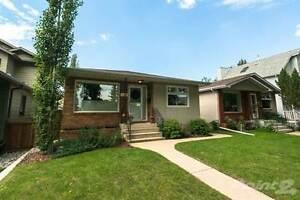 Homes for Sale in Highlands, Edmonton, Alberta $410,000