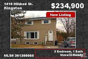 Homes for Sale in Kingston West, Kingston, Ontario $234,900