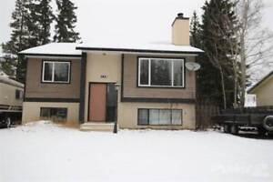 Homes for Sale in Tumbler Ridge, British Columbia $160,000