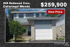 Homes for Sale in Cataraqui Woods, Kingston, Ontario $264,900