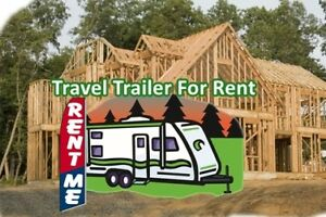 Renovations? Rent a Travel Trailer