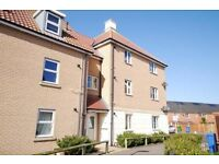 Modern two bed apartment to rent, ensuite to master and off-road car parking - availible mid August