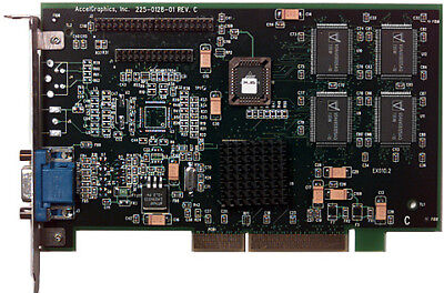 AccelGraphics PermediaII 8MB AGP Video Card 6000748 -