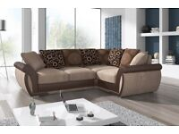 liberty corner sofa brand new left or right corner cuddle chair availble‏
