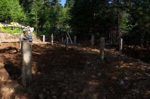 Cleared Cabin Lot Grand Lake - Foundations Complete