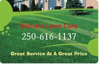 Need Lawncare? Get BARHAM LAWN CARE