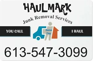 HAULMARK Junk Removal Services - YOU CALL, I HAUL Kingston Kingston Area image 3