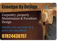 Carpentry and Decorating services