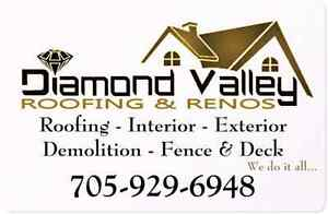 DIAMOND VALLEY ROOFING & RENOS