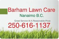 Barham Lawn Care....15% Discount If Booked This Weekend
