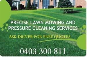 PRECISE LAWN MOWING AND PRESSURE CLEANING SERVICES Prairiewood Fairfield Area Preview