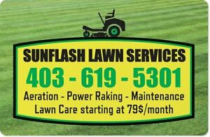 NW Calg -- Lawnmowing --
