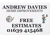 Professional Painting and decorating, free estimates over the phone