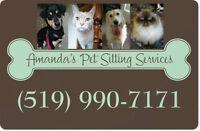 AMANDA'S PET SITTING SERVICES