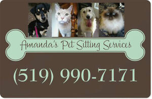 AMANDA'S PET SITTING SERVICES