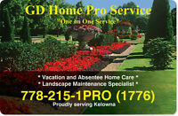 Vacation and Absentee Home Maintenance / Care