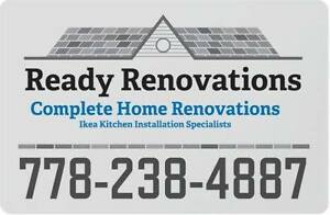 IKEA Kitchen & Bathroom Installation Services North Shore Greater Vancouver Area image 1