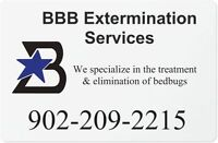 Eliminate Bed Bugs Today!  BBB Extermination Services