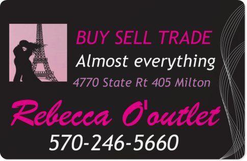 Rebecca O'outlet Milton, PA