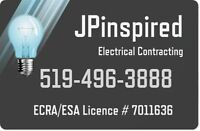 JPinspired - Licensed & Insured Electrical Contractor # 7011636
