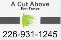 A Cut Above-Port Dover