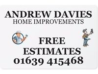 Painter and Decorator free estimates and advice