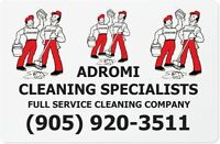 ADROMI IS A FULL SERVICE CLEANING COMPANY & CARPETS