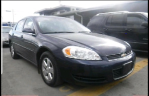 2007 Chevy Impala active. Student special. VERY LOW Kilometers