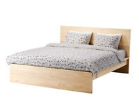Malm King Size bedframe