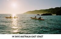 14 DAYS AUSTRALIA-EAST COAST