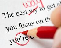Proofreading services available!